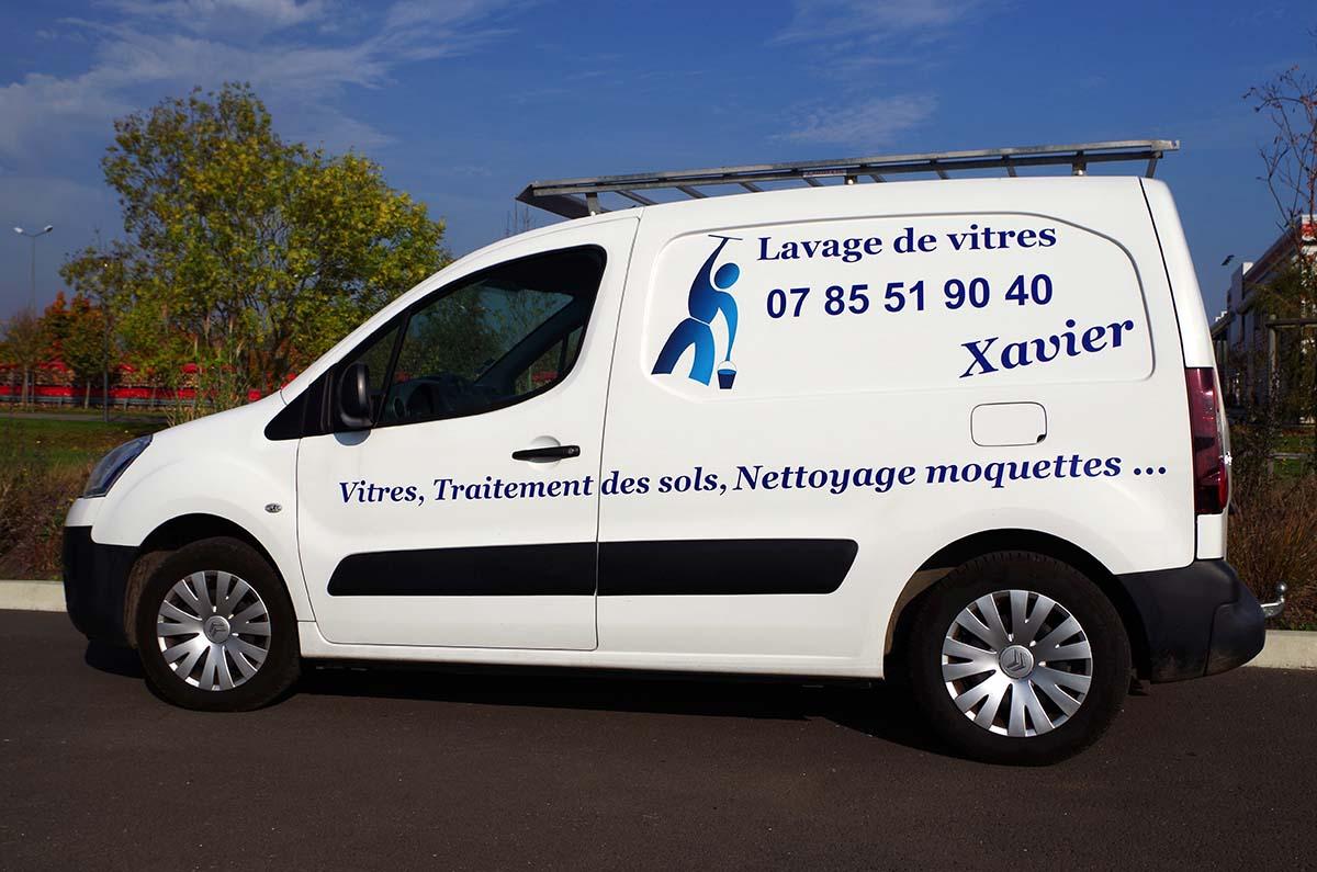 Nettoyage de vitres à Compiègne Noyon Thourotte Oise