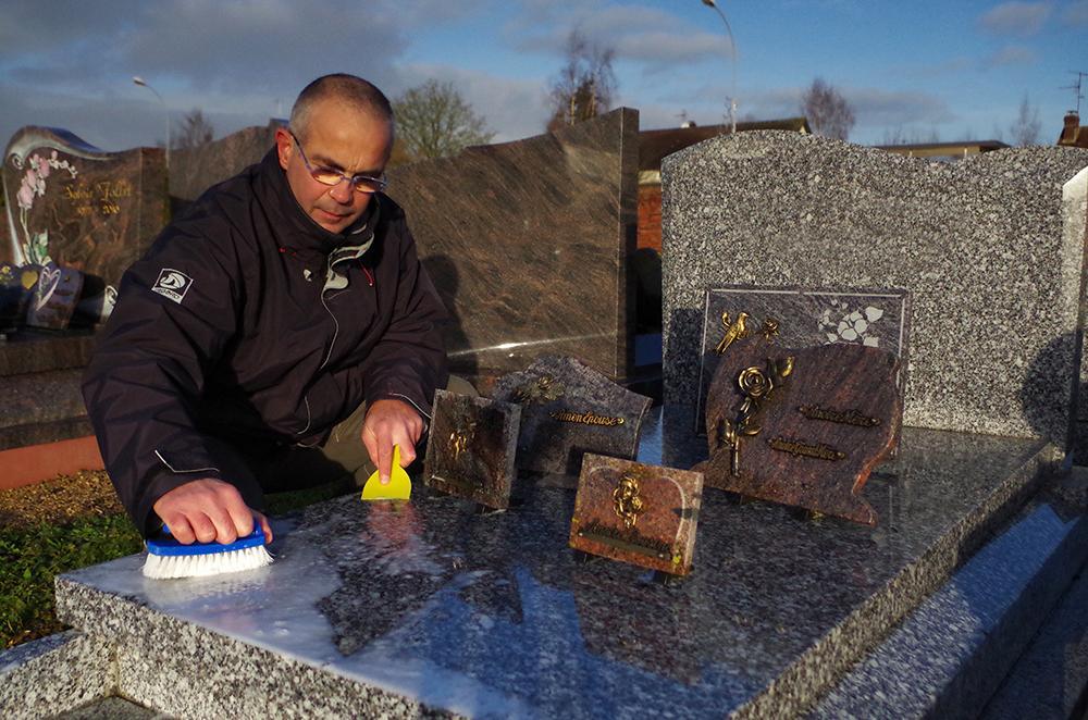 Nettoyage et entretien de sépultures à Compiègne Thourotte Noyon  60150